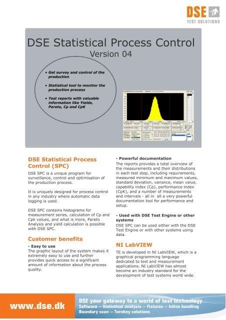 DSE_SPC_v041 pub - DSE Test Solutions