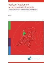 Basisset Regionale Arbeidsmarktinformatie - Werk.nl