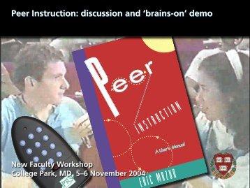 Peer Instruction ConcepTest data - Mazur Group