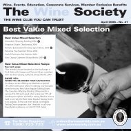Best Value Selection April 2008 - Mixed - The Wine Society