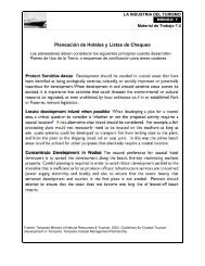 Planeación de Hoteles y Listas de Chequeo - National Marine ...