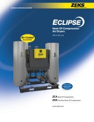 Heat-Of-Compression Air Dryers - ZEKS Compressed Air Solutions