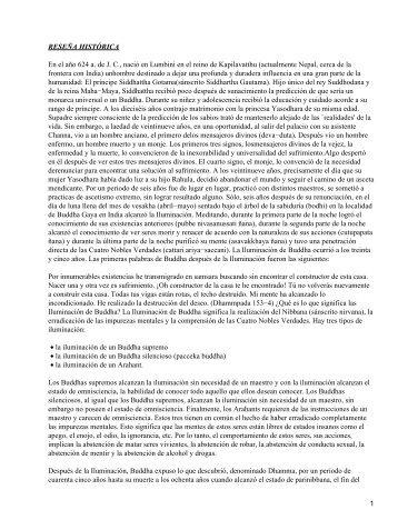 Conclusiones del budismo afinanda 2010 - Mandamientos del budismo ...