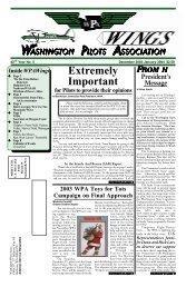 December 2003/January 2004 - Washington Pilots Association