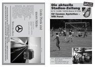VfR Foret - SV Cosmos Aystetten