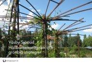 Hållbarhetsprogram och grönblå strategier - Upplands Väsby kommun