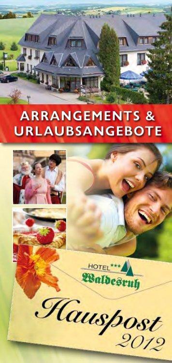 Hauspost 2012 - Hotel Waldesruh