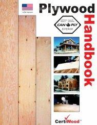 USA Plywood Handbook - Canadian Plywood Association