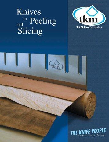 Knives Slicing for Peeling