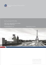 Du 25 au 26 mars 2010 à Paris Hôtel Intercontinental Paris Le ...