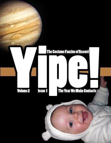 Issue 2.01 (January 2010) - Yipe!