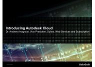 Autodesk Cloud Media Presentation_v2 - PressPage
