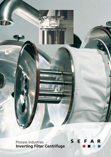 Inverting Filter Centrifuge -  SEFAR