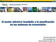 Paulo Cesar Vaz Esmeraldo paulo.esmeraldo@epe.gov.br Empresa ...