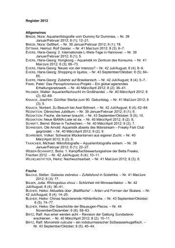 Nr. 39 Januar/Februar 2012; 8