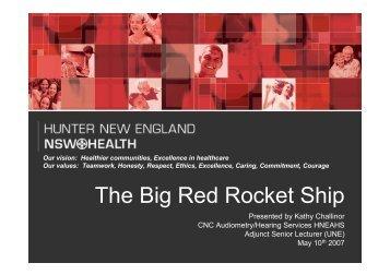 The Big Red Rocket Ship - ARCHI