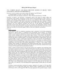 BIOAg 2006-07 Progress Report (1 – 3 pages)