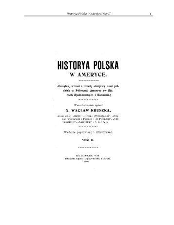 1 Historya Polska w Ameryce, tom II - Liturgical Center