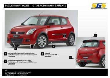 Suzuki Swift MZ/EZ Bj. 2005-2010 - SGS
