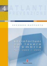 Infortuni sul lavoro in Umbria per gli anni 2004-2005 - EpiCentro