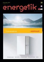November 2009 - Revija Energetik