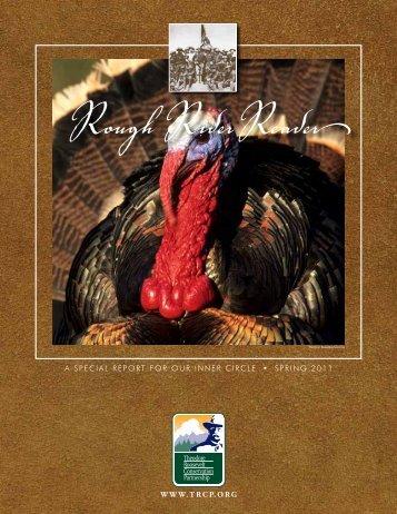 Spring 2011 Rough Rider Reader - Theodore Roosevelt ...