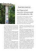 oder auf der Internetseite: www.jakobuswege-schwarzwald- alb.de - Seite 6