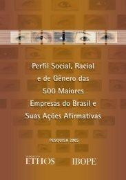 Perfil Social, Racial e de Gênero das 500 Maiores ... - observa