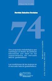 Estudios Sociales 74 - Universidad Rafael Landívar