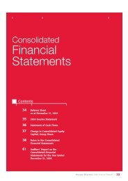 Pages 33 to 61 : Consolidated Financial Statements - Bourbon