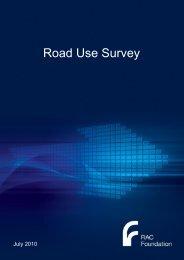 Road Use Survey - RAC Foundation