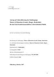 Grund-, Haupt-, Realschule - Universität Oldenburg
