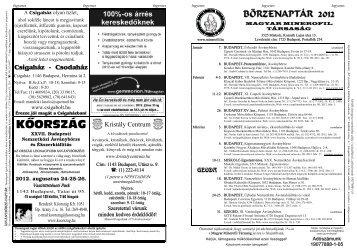 Letölthető 2012. évi ásványbörze-naptár(pdf, A3-as méretben)