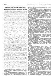 Alteração por adaptação da CNREN pela entrada em vigor do ...