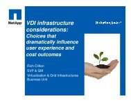 VDI infrastructure considerations: Choices that dramatically ...