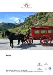 ARRIVAL - Seiler Hotels Zermatt