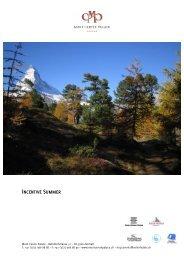 Summer - Seiler Hotels Zermatt