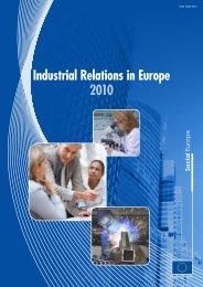 Industrial Relations in Europe 2010 - EurActiv.de