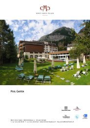 Pool Garten - Seiler Hotels Zermatt