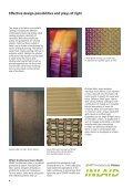 Brochure: SEFAR Architecture VISION - Selector - Page 4