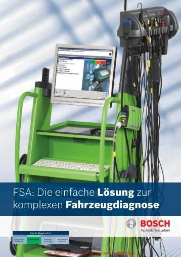 FSA: Die einfache Lösung zur komplexen Fahrzeugdiagnose