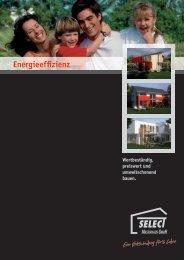 Energieeffizient bauen. - Select Massivhaus GmbH
