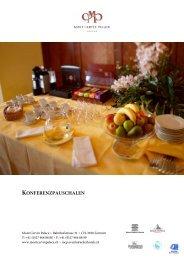 Konferenzpauschalen - Seiler Hotels Zermatt
