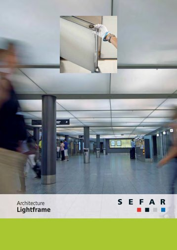 Architecture LightFrame – Modular fabric ceilings - SEFAR
