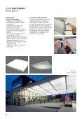 Architecture LightFrame – Modular fabric ceilings - SEFAR - Page 6
