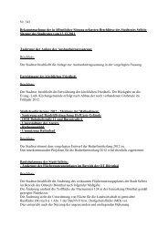 Nr. 343 Bekanntmachung der in öffentlicher Sitzung gefassten - Selbitz