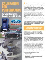 Complete ProCal Article - Ford Racing Parts