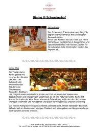 Dining @ Schweizerhof - Seiler Hotels Zermatt