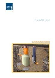 Oljeavskiljare Fakta 91-620-8283-3 - Naturvårdsverket