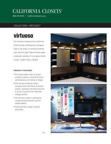 COLLECTION: VIRTUOSO™ - California Closets